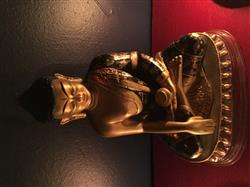 Hand Painted One of a Kind Shakyamuni Statue