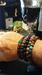 Tommy E. verified customer review of Onyx Confidence Wrist Mala