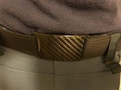 Patrick K. verified customer review of Grip6 Belt with Carbon Fiber Buckle