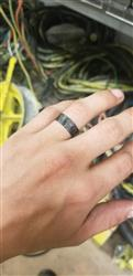 Evan H. verified customer review of Lumineer Carbon Fiber & ChromaGlow Ring by Element Ring Co.