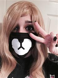 Julianna I. verified customer review of I'M A BEAR MASK