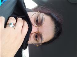 "Selena S. verified customer review of ""CIRCLE"" GLASSES"
