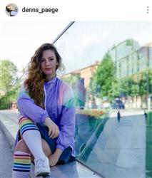 Denise B. verified customer review of RAINBOW LONG SOCKS
