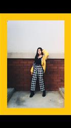 Allyna T. verified customer review of PLAID TWO-PIECE