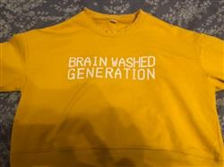 Iqra A. verified customer review of BRAIN WASHED GENERATION CROPPED SWEATER
