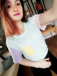 """Corina I. verified customer review of """"PASTEL PATCHES"""" T-SHIRTS"""
