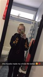 Carolynn O. verified customer review of GOLDEN ROSES HOODIES