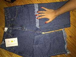 TASSELED WIDE LEG JEANS