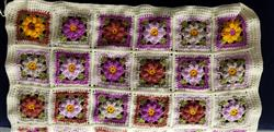 Alwyn M. verified customer review of Vintage Flower Blanket Kit by Carmen Heffernan in Stylecraft Special DK