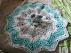 Andrea E. verified customer review of Crocheted Comforter in Cygnet Yarns Kiddies Super Safe & Soft DK
