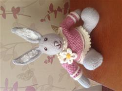 Helen M. verified customer review of Easter Bunny and Chick in Deramores Baby DK - By Amanda Berry