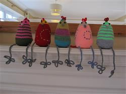 Donna B. verified customer review of Esther, Ernie & Enid Easter Chickens in Rowan Baby Merino Silk DK - Digital Version