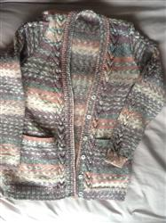 Nicola C. verified customer review of Cardigan and Waistcoat in King Cole Drifter DK (4256)