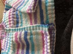 Margaret E. verified customer review of Rib Yoke Cardigan in King Cole Candystripe DK (3606)