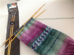 Kim P. verified customer review of Knit Pro Zing Double Pointed Needles - 20cm Length