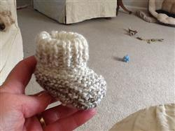 juliet y. verified customer review of Baby Chunky 2 button Booties by MadMonkeyKnits (1056) - Digital Version