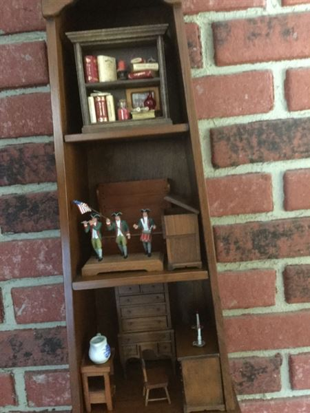 Joan L. verified customer review of Miniature Wooden Bookcase - 2 Shelf