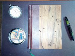 ANTONIO N. verified customer review of Reclaimed Wood Cover Journal With Handmade Amalfi Pages