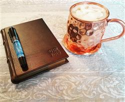 Barbara R. verified customer review of Classic Leather Journal With Gilded Pages - Unlined