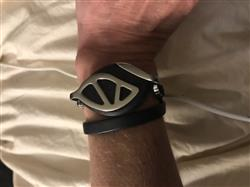 Mae N. verified customer review of Anthracite Bracelet