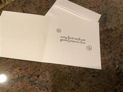 6 1/2 Square Pearl White Metallic Envelopes (6 1/2 x 6 1/2)