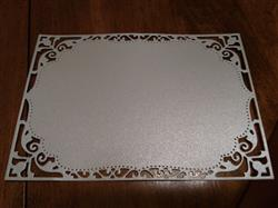 Anonymous verified customer review of Champagne Cream Metallic Card Stock 107#, 8 1/2 x 11