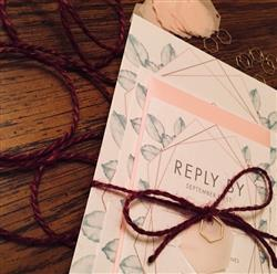 danielle b. verified customer review of A-1 (RSVP) Rose Pink Metallic Envelopes (3 5/8 x 5 1/8)