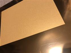 Victoria H. verified customer review of Gold Metallic Card Stock 105#, 5 x 7