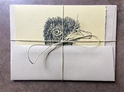 A-7 Taupe Brown Fiber Recycled Envelopes (5 1/4 x 7 1/4)