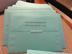 A-7 Tiffany Blue Solid Envelopes (5 1/4 x 7 1/4)