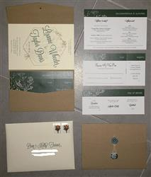 Anonymous verified customer review of Kraft Brown 130 lb Recycled Pocket Invitation Card, A7 Atlas