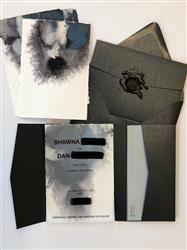 Daniel W. verified customer review of Onyx Black Metallic Pocket Invitation Card, A7 Atlas