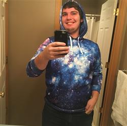Christian E. verified customer review of Stardust Pullover Hoodie