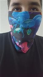 Electric Jellies Seamless Mask Bandana