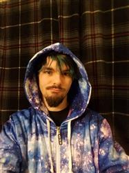 Austin G. verified customer review of Stardust Zip-Up Hoodie