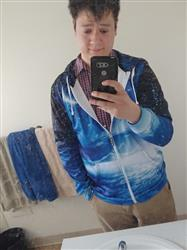 Anthony F. verified customer review of Neutron Stars Zip-Up Hoodie