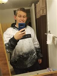 Daniel W. verified customer review of Galaxy Splatter Pullover Hoodie
