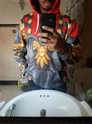 Aaron B. verified customer review of Bellona Costume Pullover Hoodie