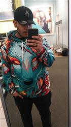 elier d. verified customer review of Digital Wolf Pullover Hoodie