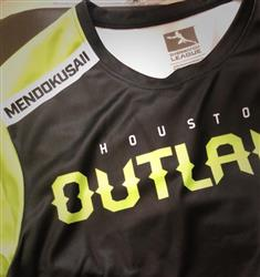 Luning L. verified customer review of Overwatch League Starter Home Jersey - Houston Outlaws - Mendokusaii