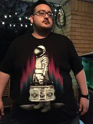 Marc D. verified customer review of AstroBlaster Men's Tee