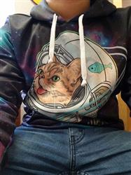 Ezequiel R. verified customer review of AstroBUB Pullover Hoodie