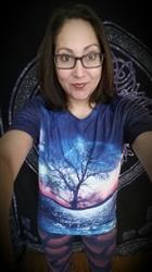 vanessa b. verified customer review of A World Away Men's Tee