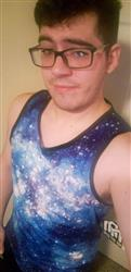 Joshua F. verified customer review of Stardust Men's Tank Top