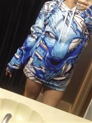 Kimberly M. verified customer review of Winter Wolf Pullover Hoodie