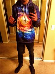 Roddy R. verified customer review of The Big Bang Pullover Hoodie