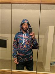 Dominic M. verified customer review of Hoot Pullover Hoodie