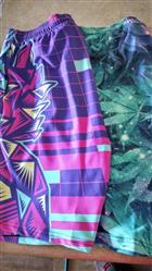 Pineapple at the Disco Men's Athletic Shorts