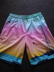 Sunset Harbor Men's Athletic Shorts