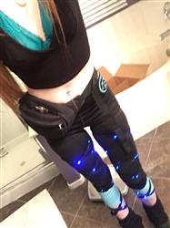 Cortney S. verified customer review of J. Valentine Light Up Leg Wraps
